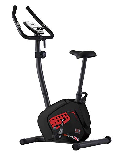 Body Sculpture BC1720 Magnetic Exercise Bike   Adjustable Magnetic Resistance   Hand Pulse Sensors   Smartphone/Tablet Dock   Track Your Progress   More
