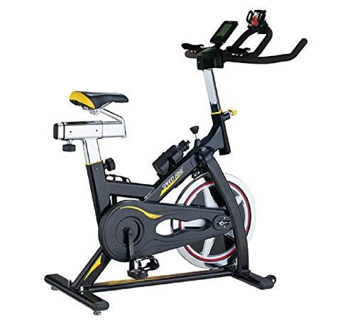 Body Sculpture BC4626 Pro Racing Studio Exercise Bike   13KG Flywheel   2 Way Gears   Adjustable Resistance   Punch Brake System   Smartphone Dock   Track Your Progress   More