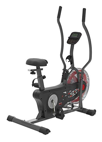Body Sculpture BC5290 Dual-Action Air Bike   Air Cooling   Smartphone Dock   Track Your Progress   Water Bottle Holders   More