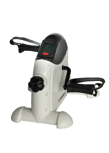 Confidence Mini Exercise Bike Pedal Exerciser with Digital Display and Adjustable Resistance