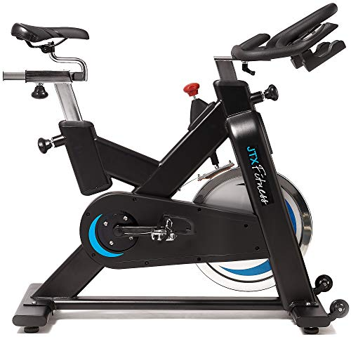 JTX Cyclo Studio: Commercial Indoor Cycle For Indoor Cycling With Dual Pedal System.