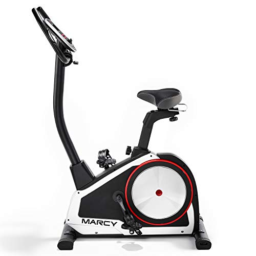 Marcy Onyx B80 Upright Exercise Bike with Tablet/Phone Holder