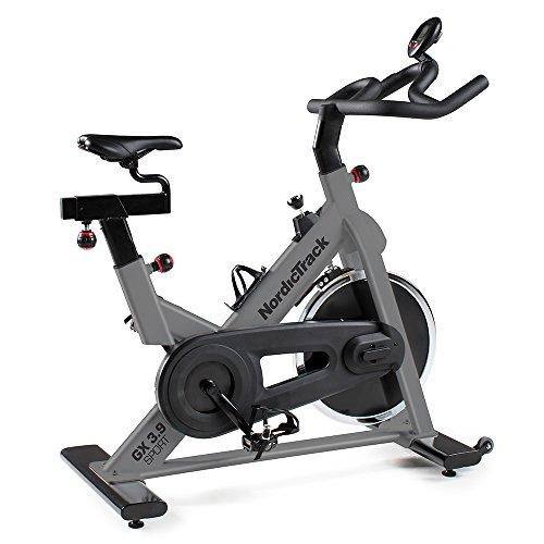 Nordic Track Unisex's GX 3.9 Sport Indoor Cycle Studio Bike, Black, adults