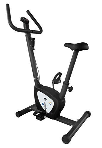 Star Shaper KC1422 Compact Exercise Bike   Adjustable Tension   Easily Transportable   Track Your Progress   More