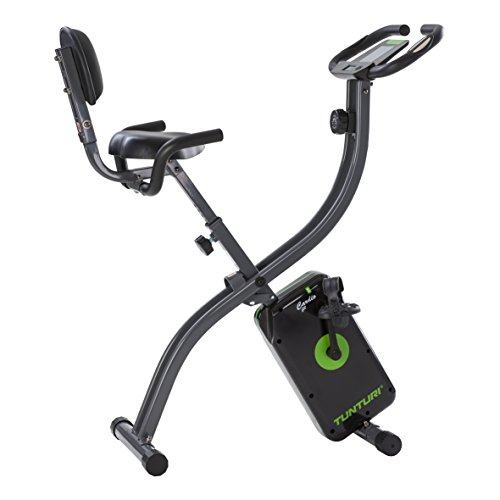 Tunturi Cardio Fit B25 X bike folding Exercise bike / home trainer - with backrest and tablet holder