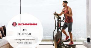 Schwinn 411 Compact Elliptical Machine thumbnail